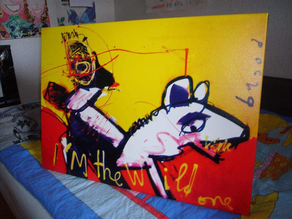 herman brood schilderij